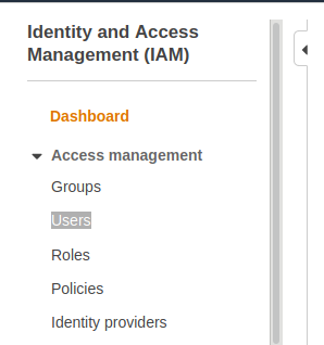 IAM-user-from-AWS