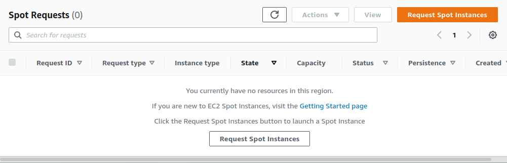 launch and configure AWS spot instance