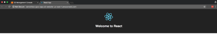 Deploy ReactJS App with S3 Static Hosting
