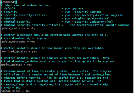 Yum-cron – Install Security Updates Automatically In AWS  RHEL 7/CentOS 7 Machine