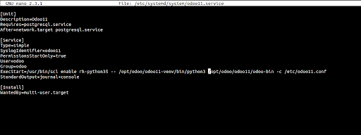 Install Open Source ERP Tool - Odoo