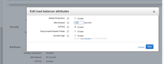 Troubleshoot a Application load balancer : HTTP 504 error